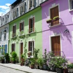 Les différentes couleurs de façades de maison