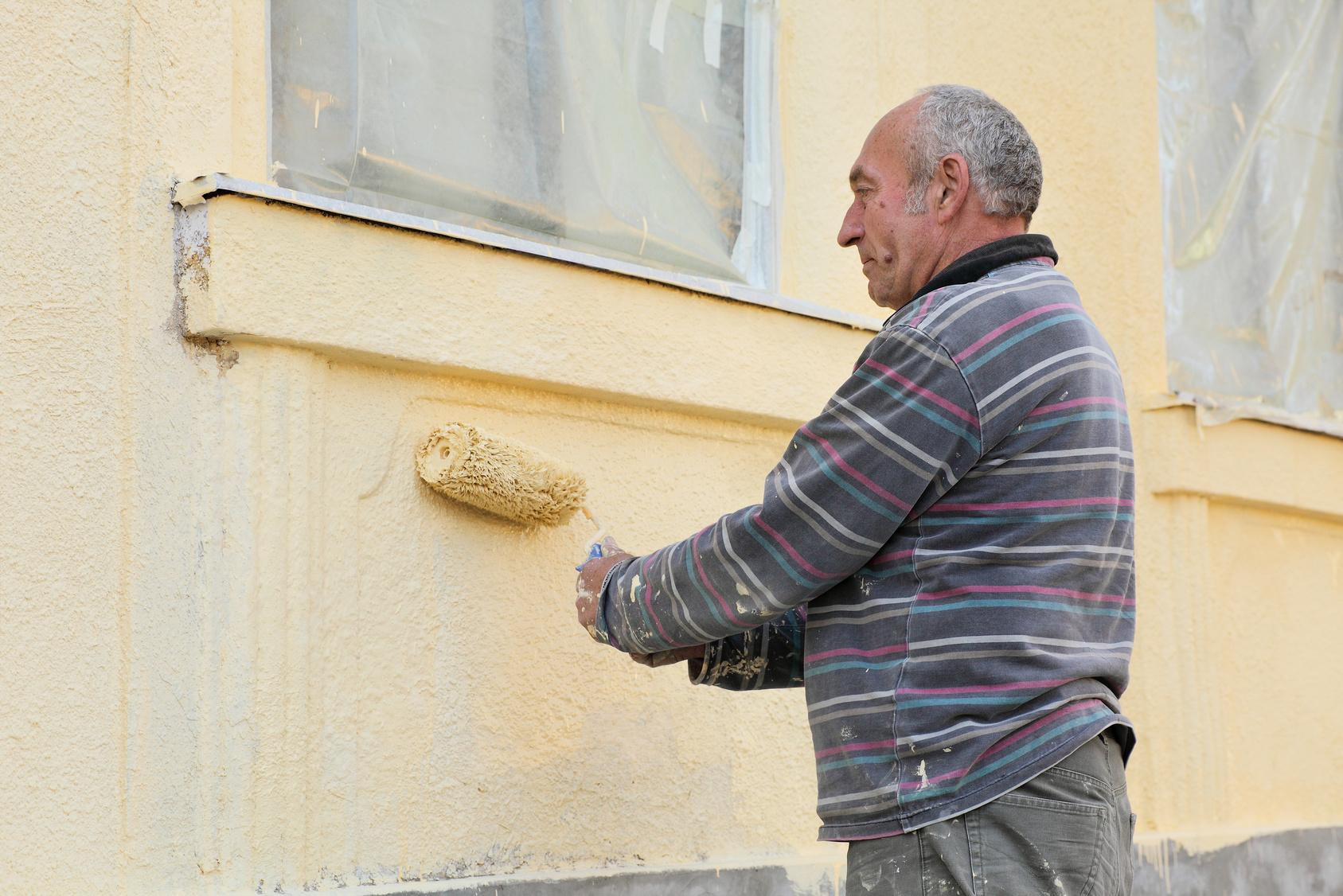 Peindre façade maison soi même