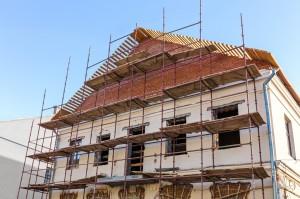 Réparation façade maison