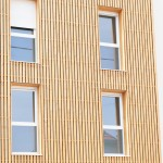 Bardage bois façade.