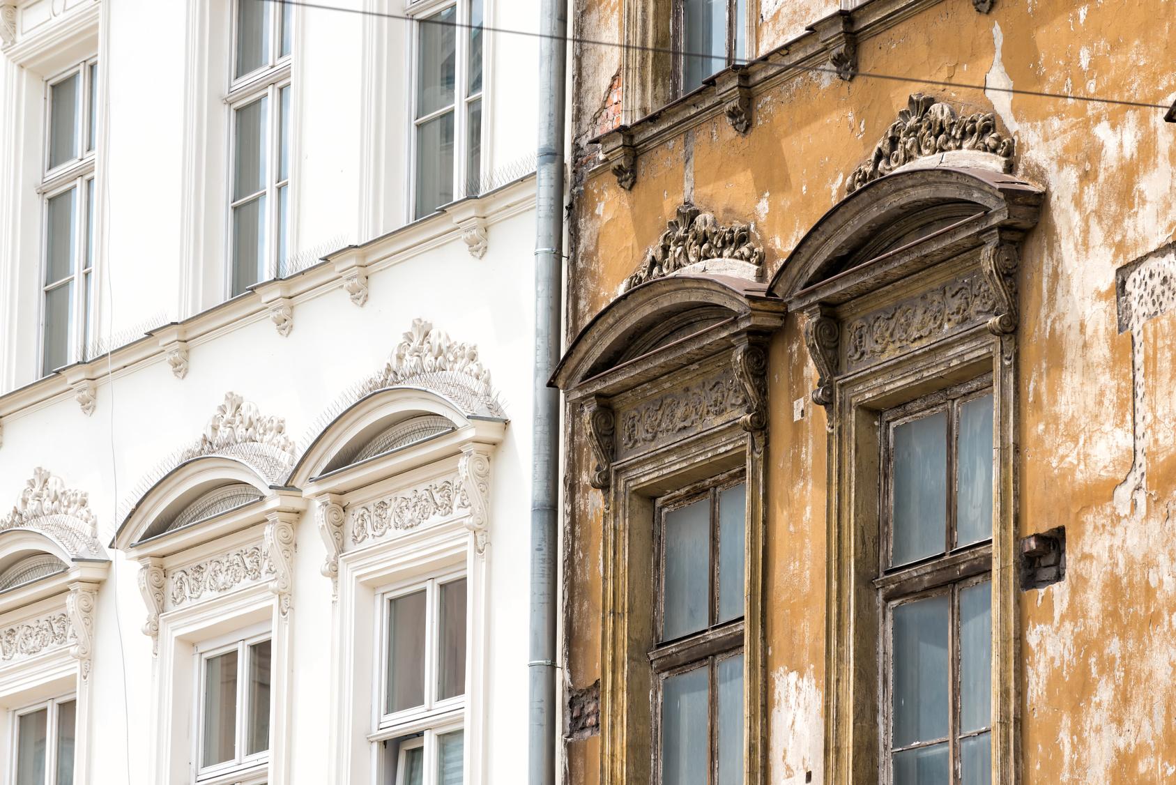 Ravalement façade maison.