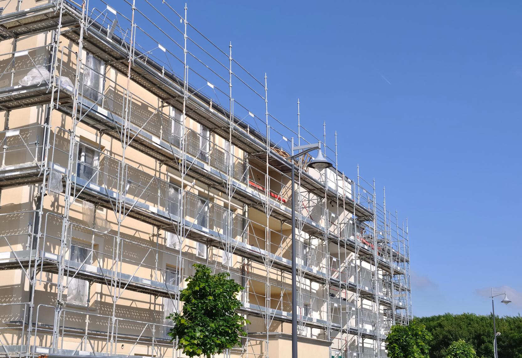 Prix de ravalement d un immeuble - Prix ravalement facade ...