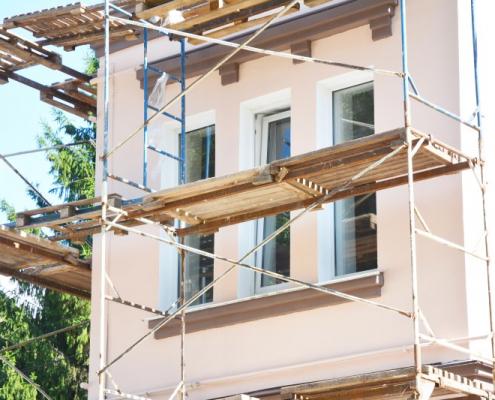 Prix de rénovation d'une façade