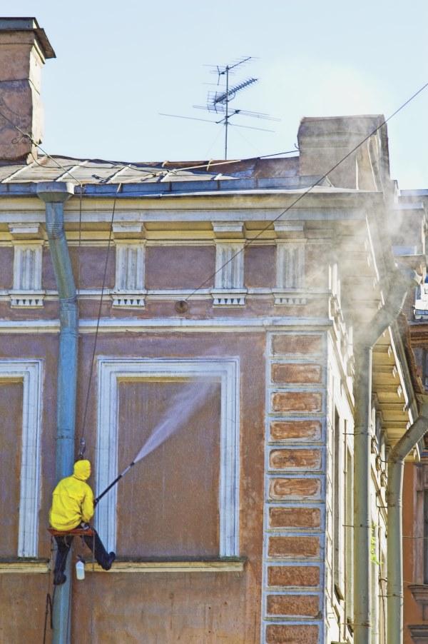 Budget de nettoyage d'une façade