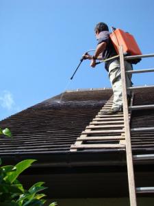 Coût de réparation d'une toiture