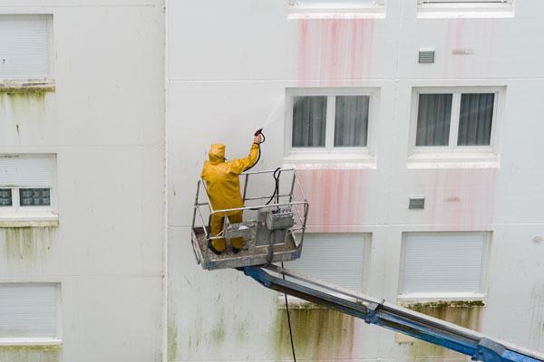 Prix d'un nettoyage de façade