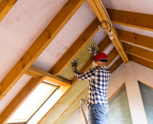 Isolation d'une toiture pour faire des economies